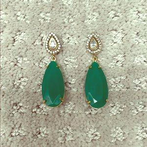 Stella & Dot rhinestone statement earrings